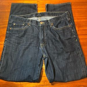 Lucky Brand 363 vintage straight leg jeans